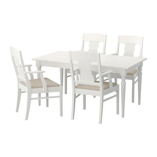 INGATORP / INGATORP Tavolo e 4 sedie - IKEA