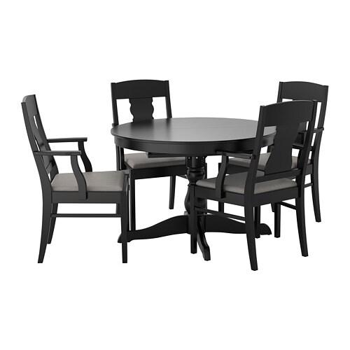 Tavoli E Sedie In Plastica Ikea.Ingatorp Ingatorp Tavolo E 4 Sedie Ikea