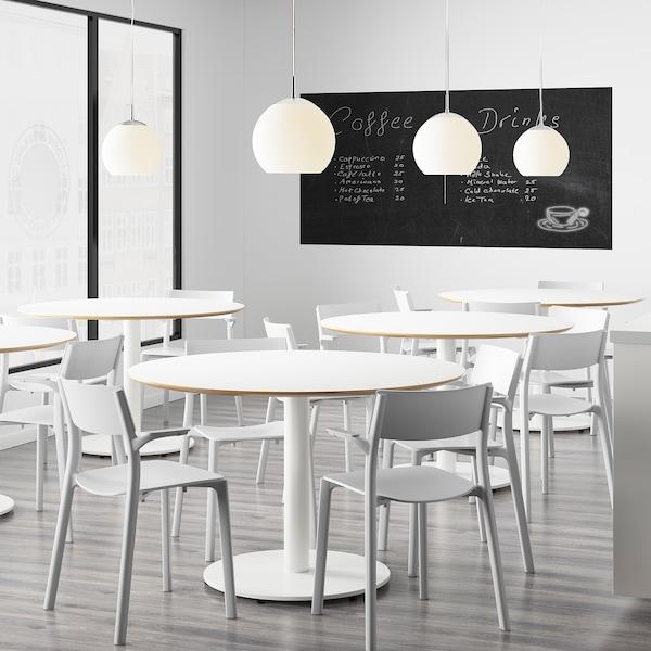 JANINGE Sedia con braccioli, grigio IKEA