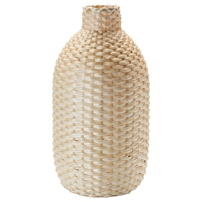 KAFFEBÖNA Decorazione, vaso, bambù, 60 cm