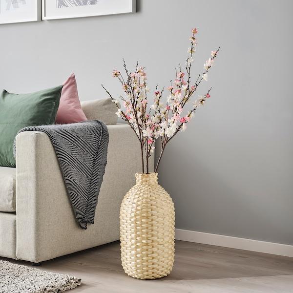 KAFFEBÖNA Decorazione, vaso, bambù, 45 cm