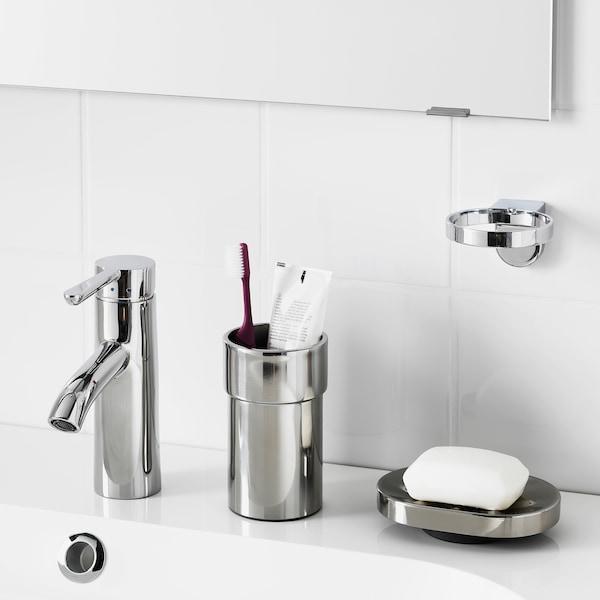 KALKGRUND Porta dispenser per sapone, cromato