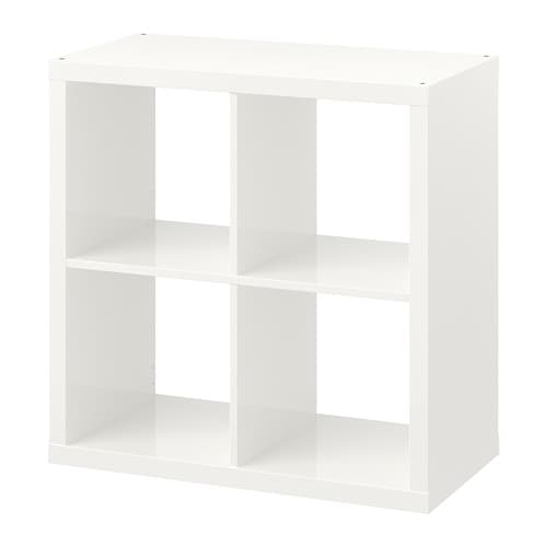 Kallax scaffale lucido bianco ikea - Ikea lack scaffale ...