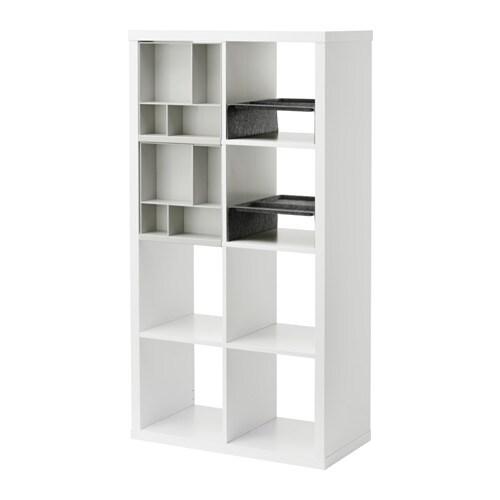 Kallax scaffale con 4 accessori ikea for Accessori casa ikea