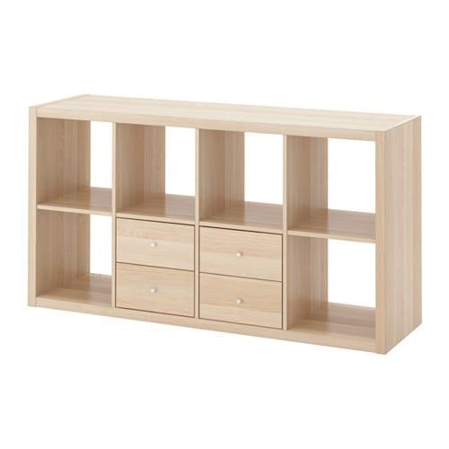 kallax scaffale con 2 accessori ikea. Black Bedroom Furniture Sets. Home Design Ideas