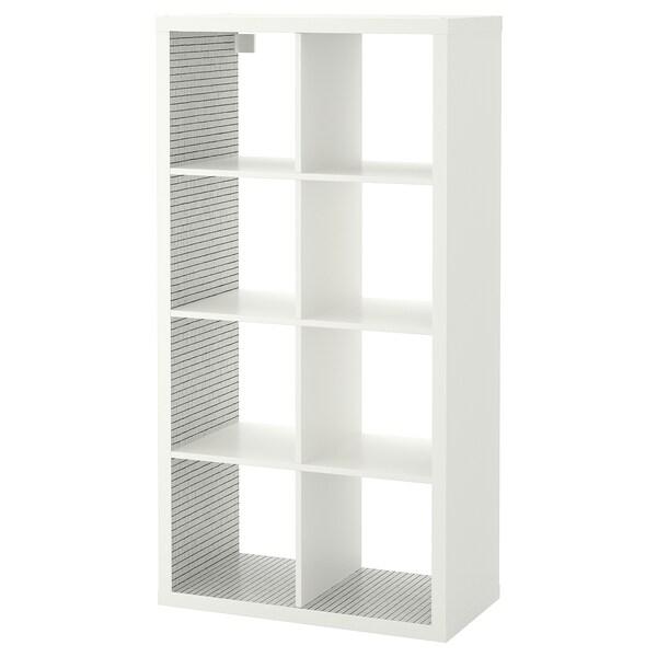 KALLAX scaffale bianco/a quadri 77 cm 39 cm 147 cm 13 kg