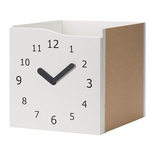 Kallax struttura interna con anta bianco orologio ikea - Pannello divisorio ikea ...