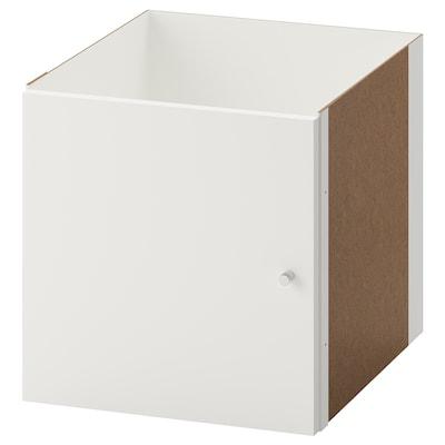 KALLAX Struttura interna con anta, bianco, 33x33 cm