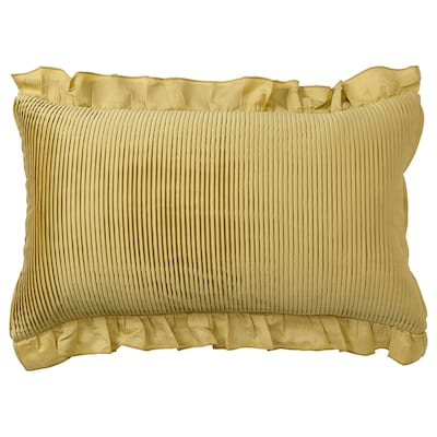 KARISMATISK Fodera per cuscino, color oro, 40x65 cm