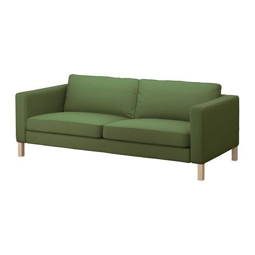 KARLSTAD Divano a 3 posti - Sivik verde - IKEA