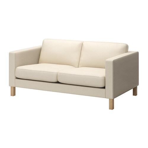 KARLSTAD Fodera per divano a 2 posti - Isefall naturale - IKEA