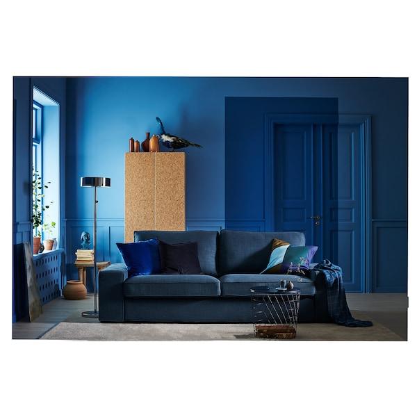 Divano Letto Kivik Ikea.Kivik Divano A 3 Posti Hillared Blu Scuro Ikea It