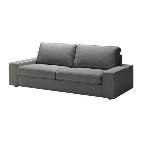 Kivik divano a 3 posti svanby grigio ikea - Ikea divano kivik 3 posti ...