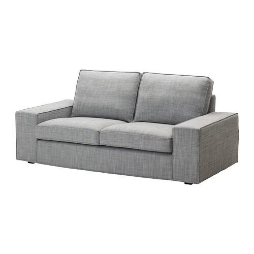 Kivik divano a 2 posti isunda grigio ikea - Un divano per dodici ...