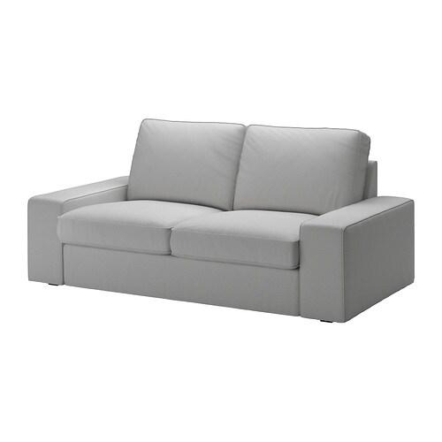 Kivik divano a 2 posti orrsta grigio chiaro ikea - Kivik divano letto ...