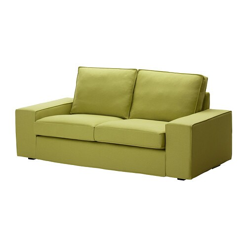 Kivik divano a 2 posti dansbo verde limone ikea - Divano ikea kivik ...