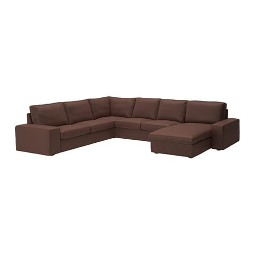 Kivik divano angolare a 5 posti con chaise longue borred - Ikea divano chaise longue ...