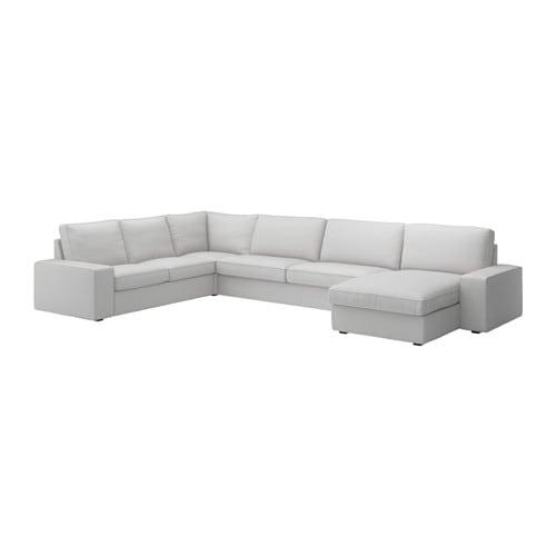 Kivik divano angolare 23 32 chaise longue orrsta grigio - Ikea divano angolare ...