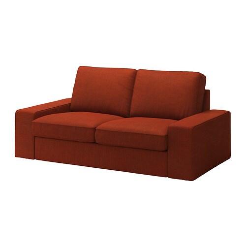 Kivik fodera per divano a 2 posti isunda arancione ikea - Kivik divano letto ...