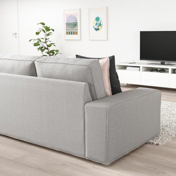 Ikea Divano Letto Kivik.Kivik Divano A 2 Posti Orrsta Grigio Chiaro Ikea