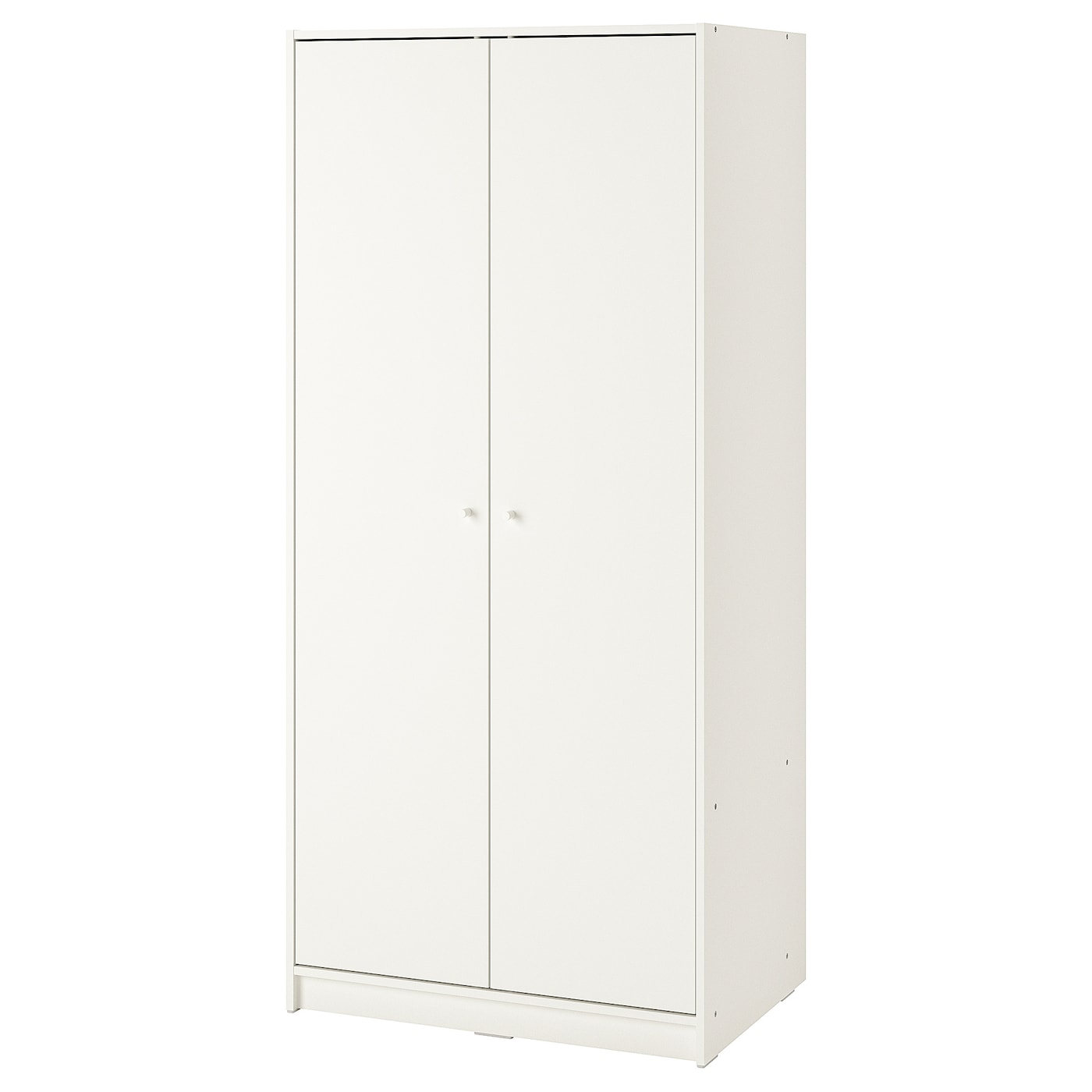 Armadio Ikea Due Ante.Kleppstad Guardaroba Con 2 Ante Bianco Ikea It
