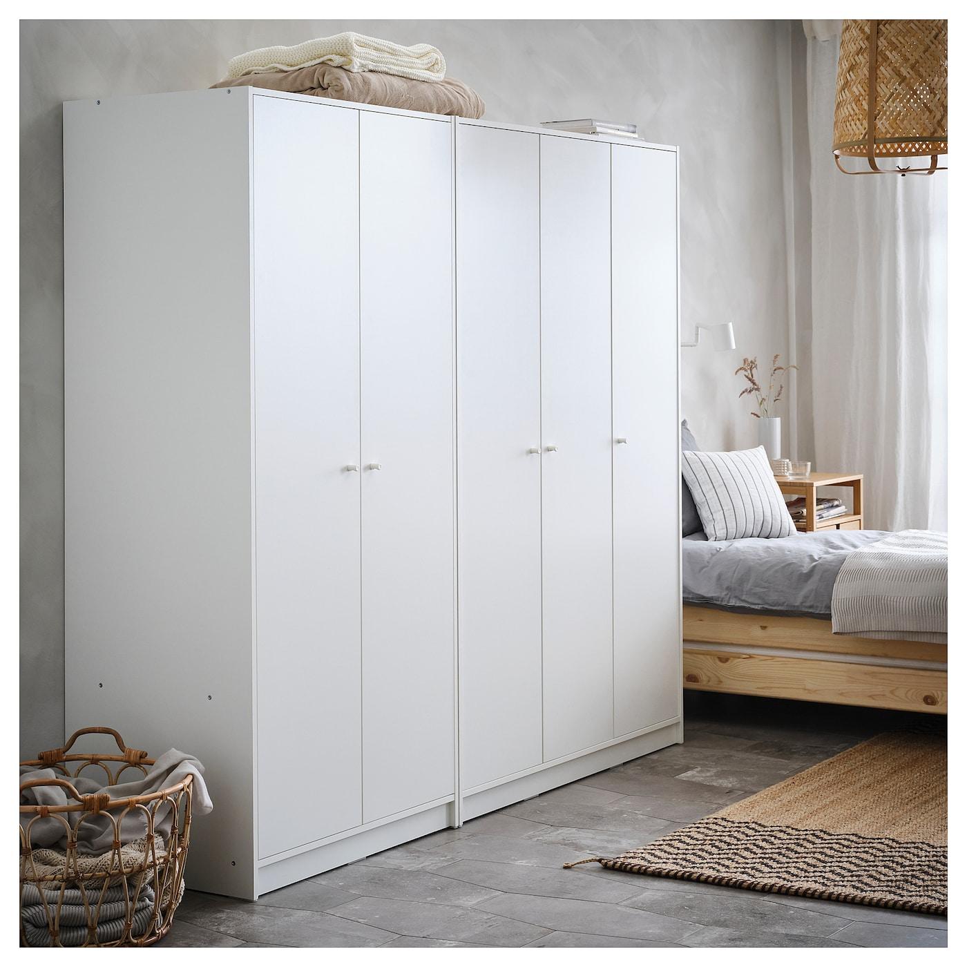 Armadio Camera Da Letto Ikea.Kleppstad Guardaroba Con 2 Ante Bianco Ikea It