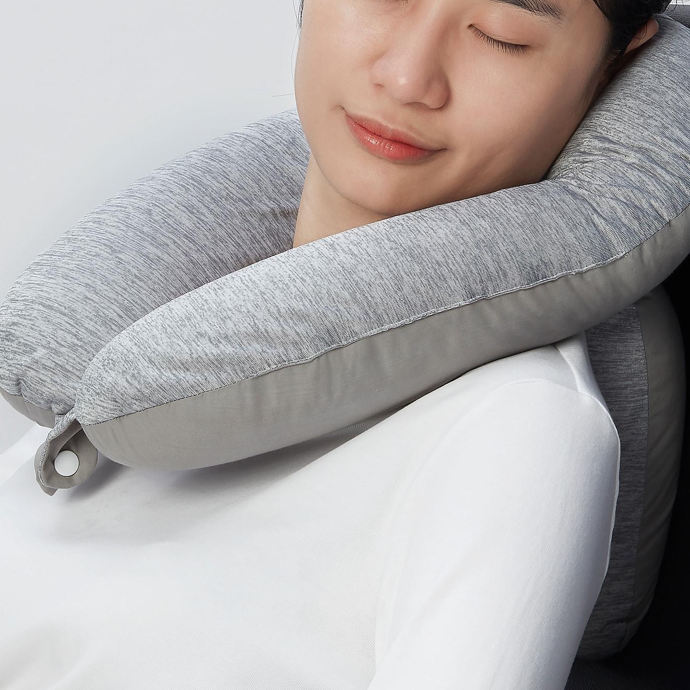 Cuscino Per Il Collo Da Viaggio.Klibbarv Cuscino Da Viaggio Per Collo Grigio Ikea It