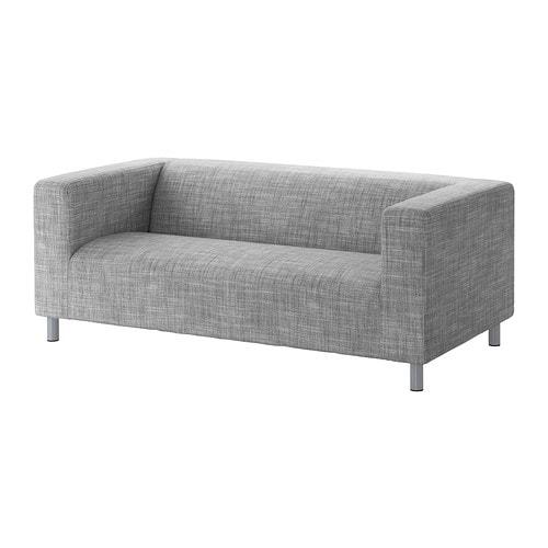 klippan divano a 2 posti isunda grigio ikea