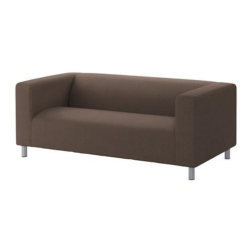 KLIPPAN Divano a 2 posti - Dansbo marrone - IKEA