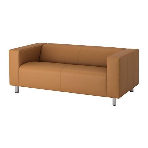 klippan divano a 2 posti bomstad marrone ikea