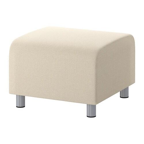 Fodere Divani Ikea Klippan : Klippan pouf korndal beige ikea