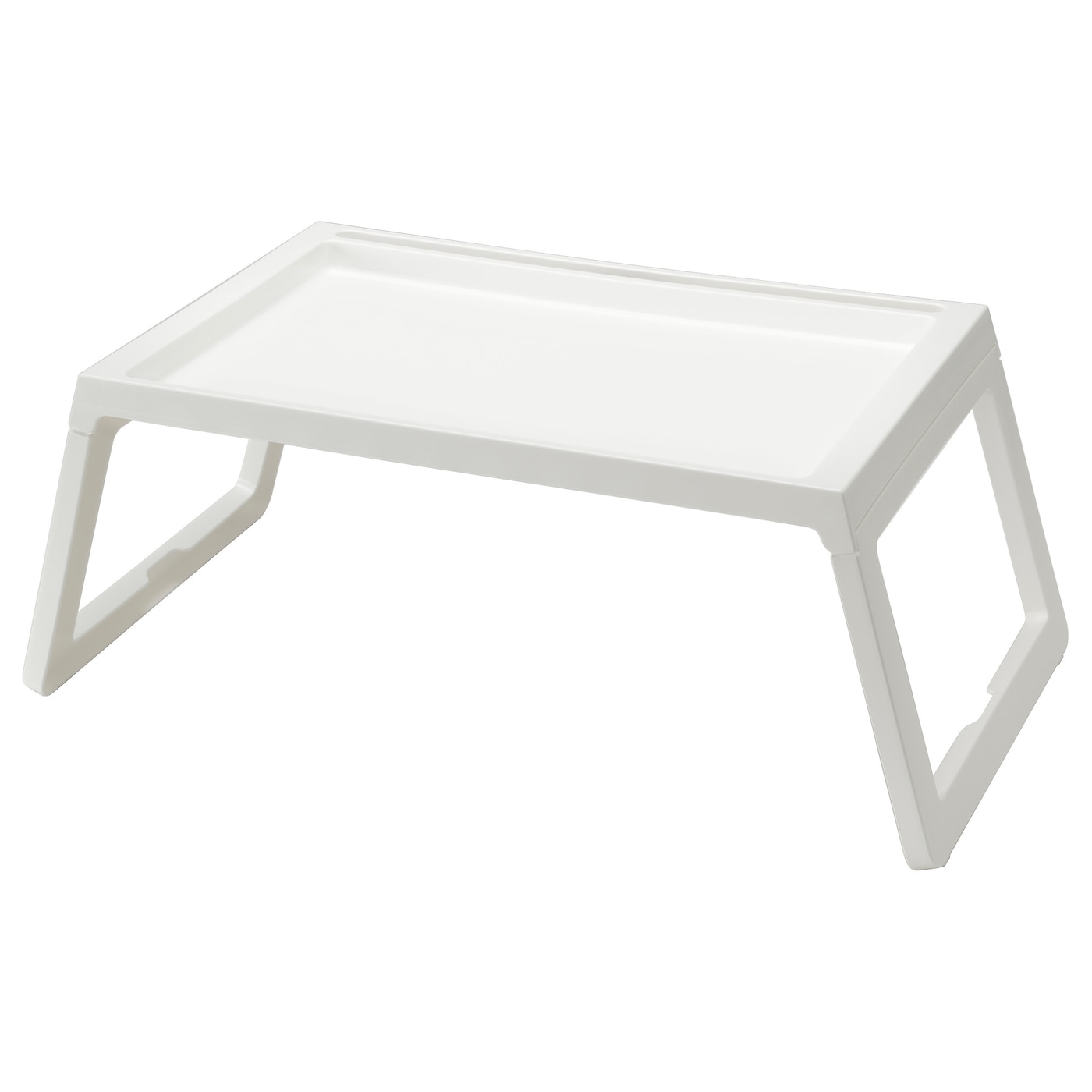 Tavolino Che Diventa Tavolo Ikea klipsk vassoio da letto - bianco