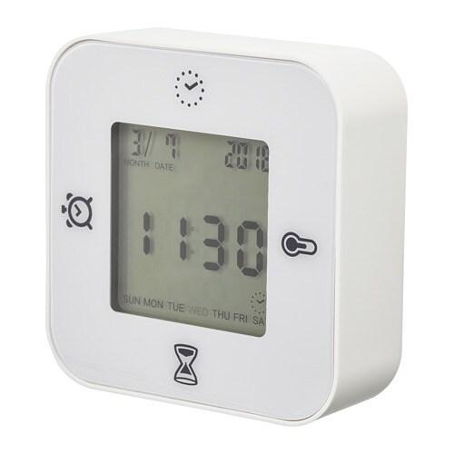 Klockis orologio termometro allarme timer ikea for Orologio ikea