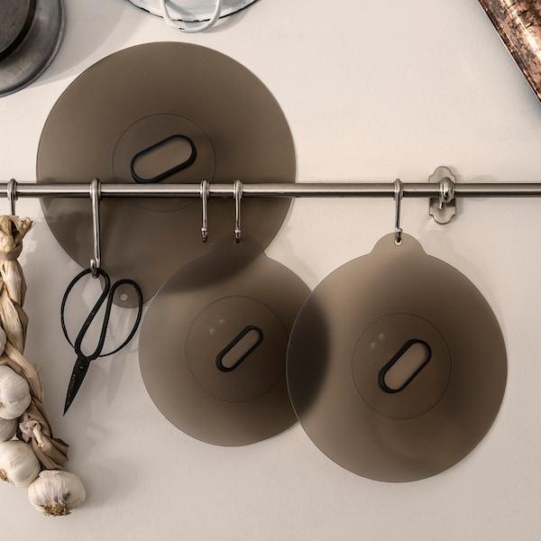 KLOCKREN Set di 3 coperchi universali, silicone