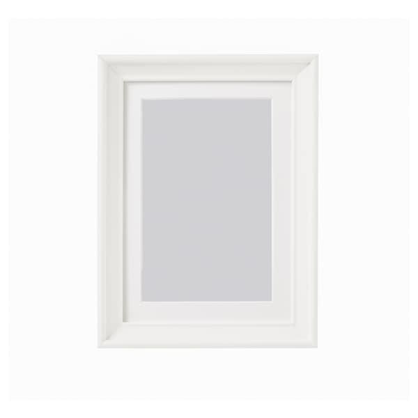 KNOPPÄNG Cornice, bianco, 13x18 cm