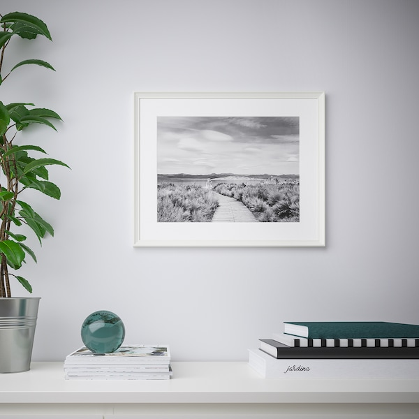 KNOPPÄNG Cornice, bianco, 50x70 cm