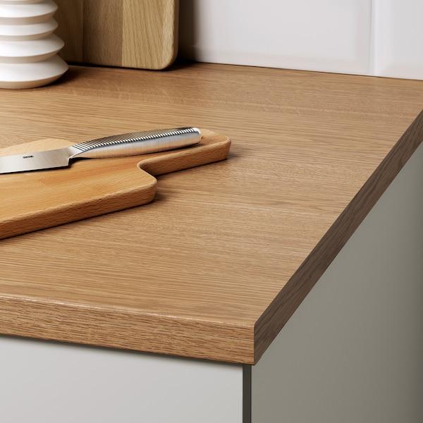 KNOXHULT Cucina, grigio, 220x61x220 cm