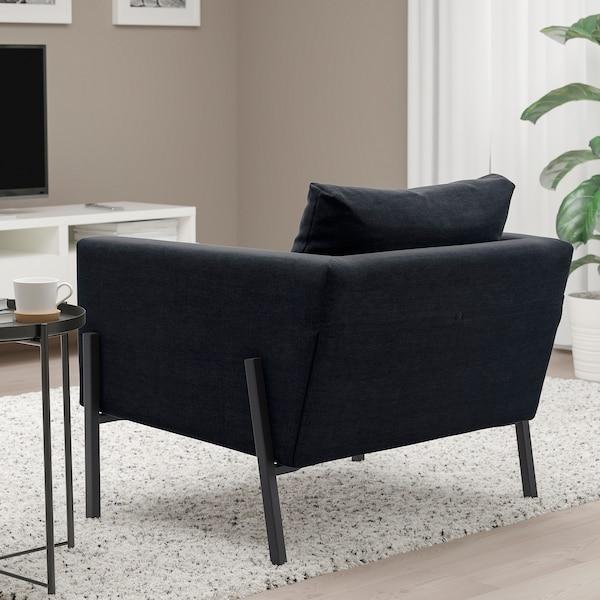 KOARP Poltrona, Saxemara blu-nero/nero