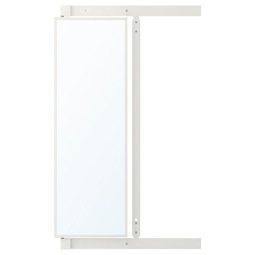IKEA KOMPLEMENT Specchio estraibile con ganci