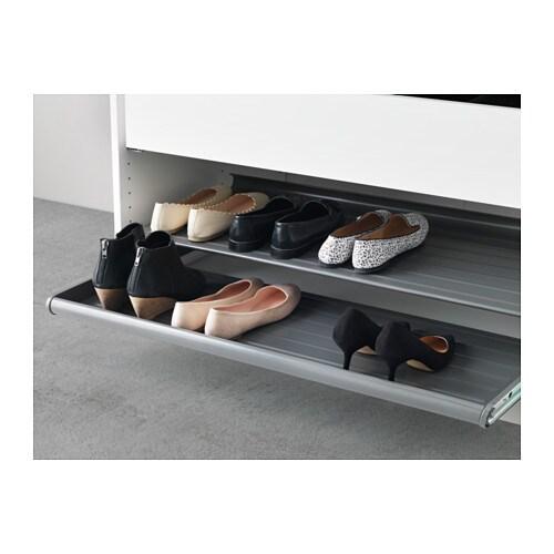 Estremamente KOMPLEMENT Ripiano per scarpe estraibile - grigio scuro, 50x58 cm  ZJ87