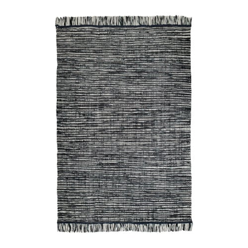 K penhamn tappeto tessitura piatta fatto a mano grigio - Tappeto grigio ikea ...