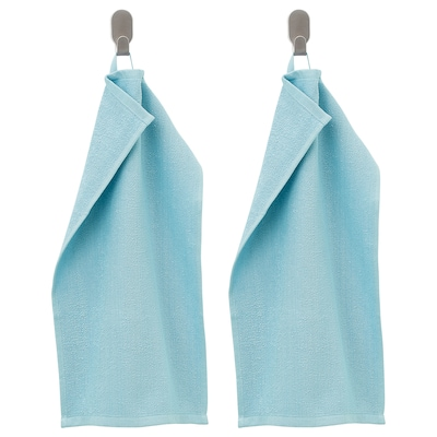 KORNAN Asciugamano ospite, azzurro, 30x50 cm