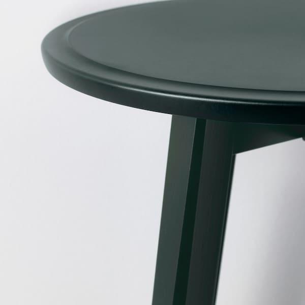 KRAGSTA set di 2 tavolini blu scuro-verde