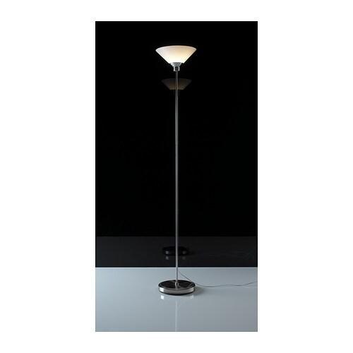 Ikea kroby piantana lampada da terra a luce indiretta for Lampada terra ikea