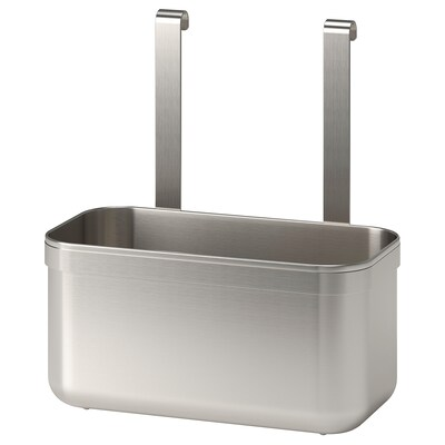 KUNGSFORS Contenitore, inox, 24x12x26.5 cm