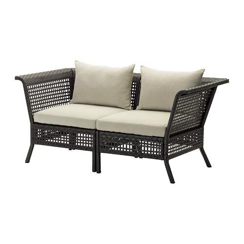 Kungsholmen divano a 2 posti da esterno ikea for Ikea divani esterno
