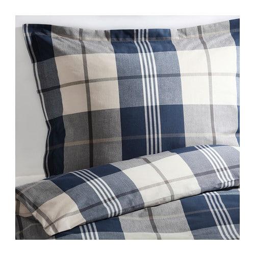 kustruta copripiumino e 2 federe 240x220 50x80 cm ikea. Black Bedroom Furniture Sets. Home Design Ideas