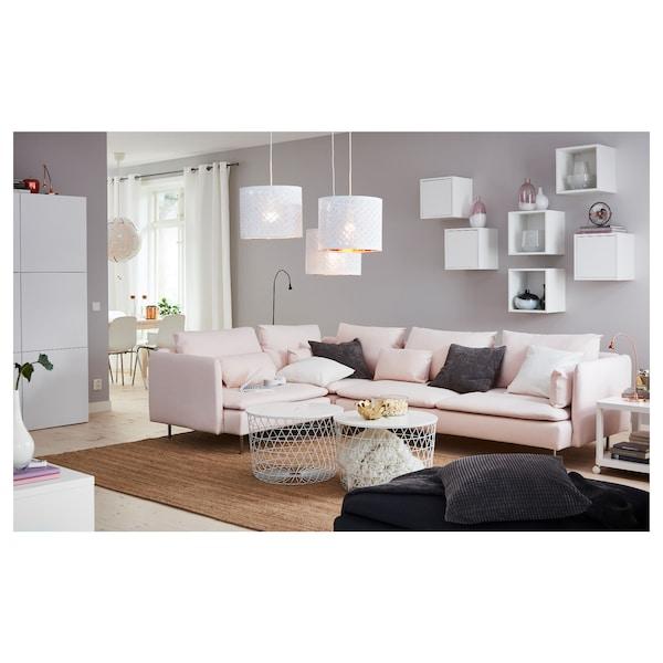 KVISTBRO tavolino/contenitore bianco 42 cm 61 cm