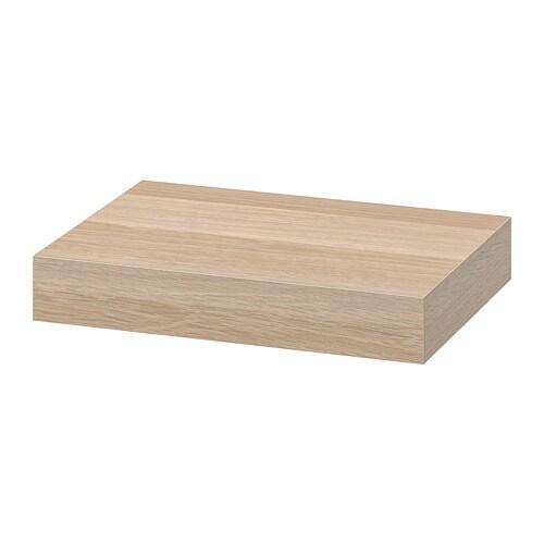 LACK Mensola - effetto rovere con mordente bianco - IKEA