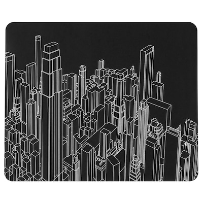 LÅNESPELARE Tappetino per mouse da gaming, fantasia, 36x44 cm